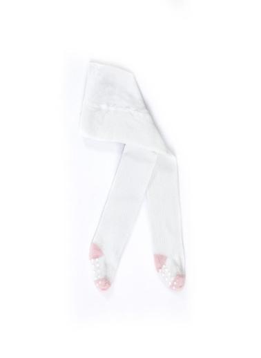 Katia & Bony Yummy Bambu Bebek Külotlu Çorap  Beyaz